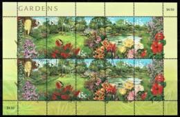 Australia 2000 Gardens Sheetlet CTO - 2000-09 Elizabeth II