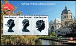 New Zealand 2013 World Stamp Exhibition Melbourne Minisheet MNH - Unused Stamps