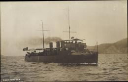 Cp Italienisches Kriegsschiff, Carabiniere - Barche