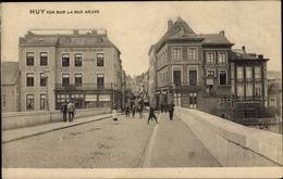 Cp Huy Wallonien Lüttich, Rue Neuve - Belgique