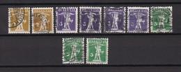 Schweiz - 1909/1911 - Michel Nr. 111/13 - Gest. - 26 Euro - Schweiz