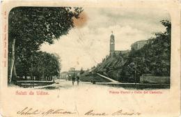 CPA UDINE Piazza D'armi E Colle Del Castello ITALY (543048) - Udine