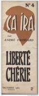 Ca Ira -André Frossard -mensuel N°4 Octobre 1965 - Politik