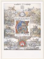 Slovakia 2007 Bratislava Souvenir Sheet MNH/** (H26-LARGE) - Blocks & Kleinbögen