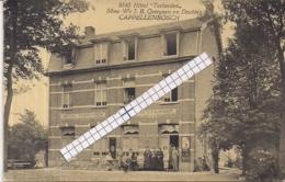 """CAPPELLENBOSCH-KAPELLEN""""HOTEL TERHEIDEN-MME WE JB QUIRYNEN EN DOCHTER""""HOELEN 8840 UITGIFTE 1922 TYPE 7 - Kapellen"""