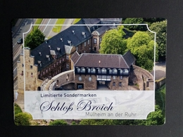 DEUTSCHLAND MARKENHEFT SCHLOSS BROICH MÜLHEIM 2. EDITION POSTPREIS 2,30 € - BRD