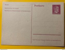 9546 - Entier Postal / Ganzache Hitler 6 Pf Rose Neuf - Ganzsachen