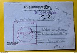 9538 - Correspondance Des Prisonniers De Guerre Stammlager XII A 5.05.1941 Pour Villiers Sur Marne - Wars