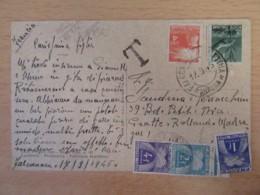 CPSM Falconara (Marche) Vers France - Vita Di Spaggia - Animée - Taxe 7 Francs - 1946 - Autres Villes
