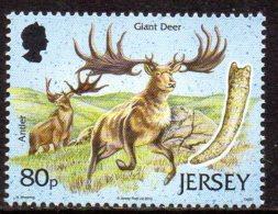 2010 Jersey,Archéologie, Cerf Géant - Jersey