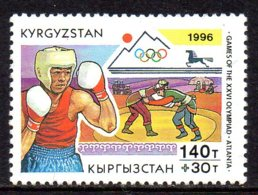1996, Khirghizstan, Olympic Game, Jeux Olympiques, Boxe - Kirgizië