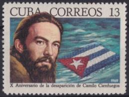 1969.98 CUBA 1969 MNH Ed.1685. X ANIV MUERTE DE CAMILO CIENFUEGOS - Cuba