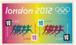 Sierra Leone 2012 London Olympic Games Souvenir Sheet MNH/** (H26) - Sommer 2012: London