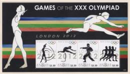 Antigua & Barbuda 2012 London Olympic Games Souvenir Sheet MNH/** (H26) - Sommer 2012: London