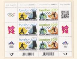 Slovenia 2012 London Olympic Games Souvenir Sheet MNH/** (H26) - Sommer 2012: London