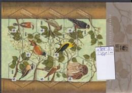 Liechtenstein Michel Cat.No. Mnh/** Sheet 1598/1605 Birds - Blocchi & Fogli