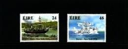 IRELAND/EIRE - 1988  TRANSATLANTIC  TRANSPORT ANNIVERSARIES  SET MINT NH - 1949-... Repubblica D'Irlanda