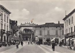 Lombardia - Brescia - Montichiari  - La Piazza  - F. Grande - Anni 50 - Molto Bella Animata - Italie