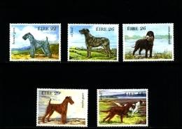 IRELAND/EIRE - 1983  IRISH DOGS  SET MINT NH - 1949-... Repubblica D'Irlanda