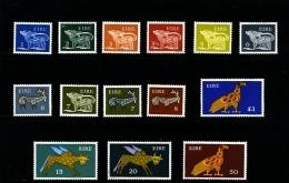 IRELAND/EIRE - 1974-76  SYMBOLICAL  ANIMALS  NO WMK  SET  MINT NH - 1949-... Repubblica D'Irlanda