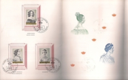 HERDENKINGSKAART 38STE CAMPAGNE ANTITUBERCULEUX-ANTITERINGSZEGELS  1962/1963 -8.12.62 KONINGINNEN VAN BELGIE - Cartes Souvenir
