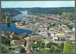 PC  Mittet M-1130/27- Norway, Panoramic View Of Halden .  Unused - Norvège