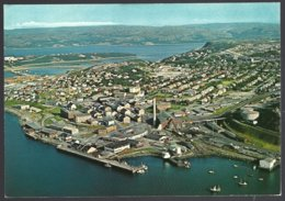 PC  AUNE F-8388-7- Norway  Kirkenes  The Town With The Harbour.  Unused - Norvège