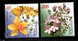 Armenia - Arménie 2001 Yvert 408-09, Flora. Flowers, St John's Wort &  Creeping Thyme - MNH - Arménie