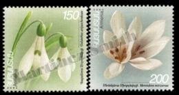 Armenia - Arménie 2003 Yvert 427-428, Flora, Flowers, Snowdrop & Colchicum - MNH - Arménie