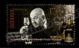 Armenia - Arménie 2007 Yvert 551, Famous People. Wine Expert, Margar Sedrakyan, Portrait - MNH - Armenia