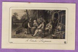 Les Joueurs A. Ostade Editeur Fontane à Paris - - Cartes Postales