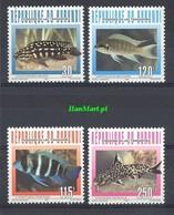 Burundi 1996 Mi 1824-1827 MNH ( ZS4 BUR1824-1827 ) - Peces