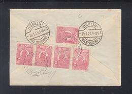 Romania Cover 1925 Vranceni To Berlin - Lettres & Documents