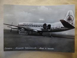 AEROPORT / AIRPORT / FLUGHAFEN    CIAMPINO   VISCOUNT MEA - Aerodromi
