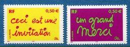 France - YT N° 3636 Et 3637 - Neuf Sans Charnière - 2004 - Francia
