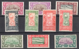 SPM Mh * 10F And 20 F Plus Smaller Values From Set, Overall 244 Euros - St.Pedro Y Miquelon