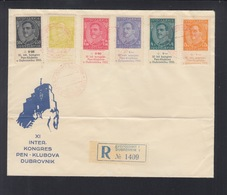 Yugoslavia Cover Pen Club Dubrownik 1933 - Briefe U. Dokumente