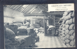 LAEKEN-BRUXELLES - Chocolats Meyers - Societé Anonyme - Magasin à Cacaos - Laeken