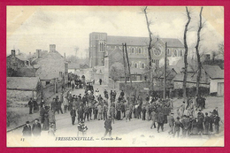 CPA Fressenneville - Grande Rue - France