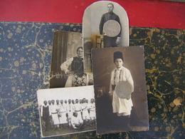 Serbia-Banat-Romania-4 Photo-National Costumes   (4162) - Altri