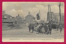 CPA Fressenneville - Cortège De Grévistes - France