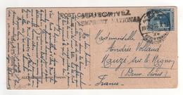 """Beau Timbre , Stamp Sur Cp , Carte , Postcard D'Alexandrie Du 18/10/1920 + Griffe """" Souscrivez à L'emprunt National """" - 1915-1921 Protectorat Britannique"""