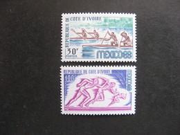 A). Cote D'Ivoire:  TB Paire N° 277 Et N°278, Neufs X. - Costa D'Avorio (1960-...)