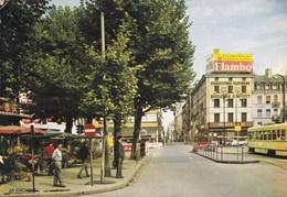 SAINT ETIENNE - LOIRE - (42) - CPSM ANIMÉE DE 1967 - BEL AFFRANCHISSEMENT POSTAL.. - Saint Etienne