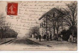 Saint-Genest-d'Ambière-La Gare - France