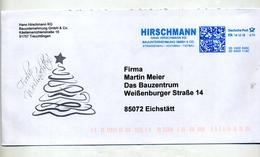 Lettre Flamme Ema Frankit Construction Hirschmann Voeux Noel - [7] Repubblica Federale