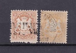 Bayern - 1873 - Michel Nr. 28/29 Y - Gest. - 25 Euro - Bavière