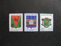 Cote D'Ivoire:  TB Série N° 289 Au N°291, Neufs XX. - Costa D'Avorio (1960-...)