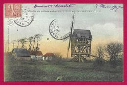 CPA Friville - Fressenneville - Moulin En Ruines - Friville Escarbotin