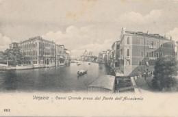 2a.818. VENEZIA - Canal Grande Preso Dal Ponte Dell'Accademia - Venezia (Venice)